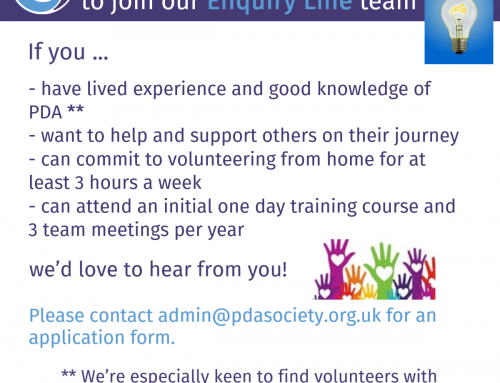 Can you help the PDA Society?