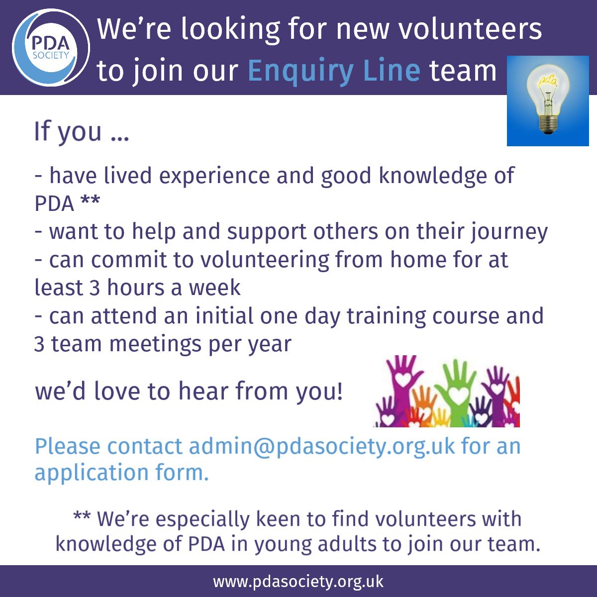 PDA-Volunteer