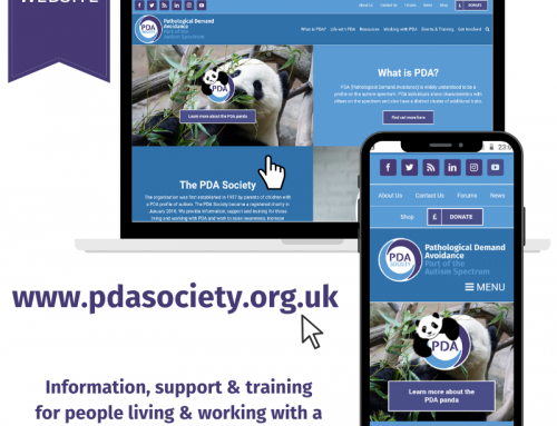 New PDA Society website