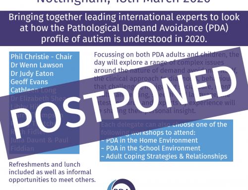 PDA Society Conference – Postponement