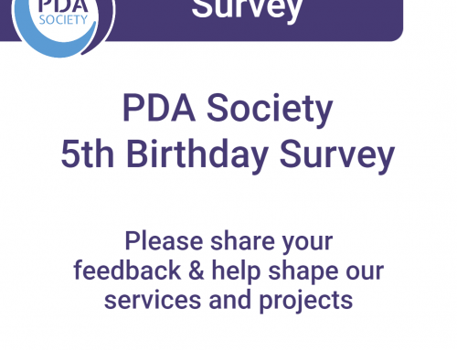 PDA Society 5th Birthday Survey